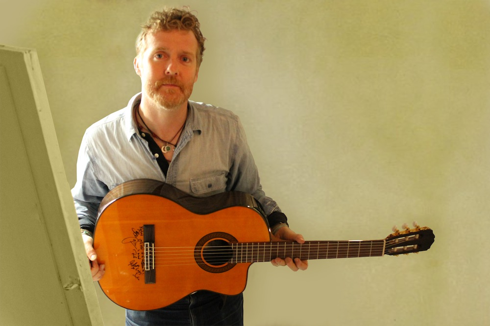 Donate for your chance to win a guitar signed by Glen & the